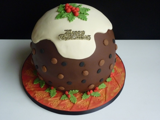 Christmas Cake for Cass & Tony