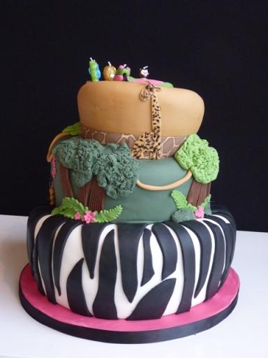 Marwell Zoo cake 2
