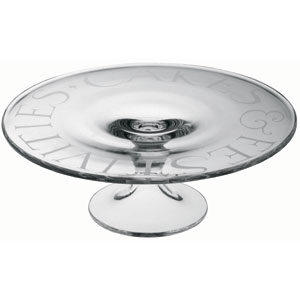 Emma Bridgewater Glass Cake Stand