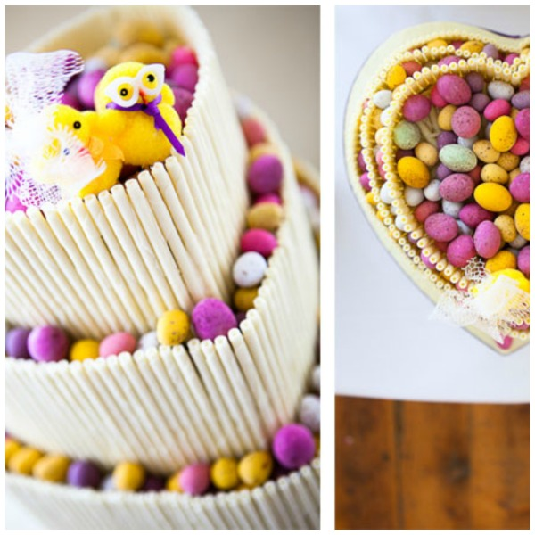 Chocoholic Wedding Cake for easter