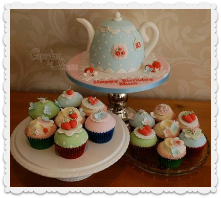 Cath Kidston Style Teapot