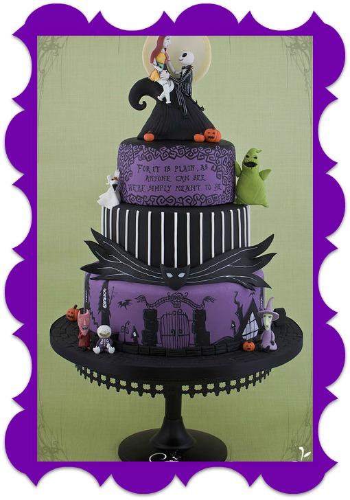 Night Before Christmas Wedding Cake