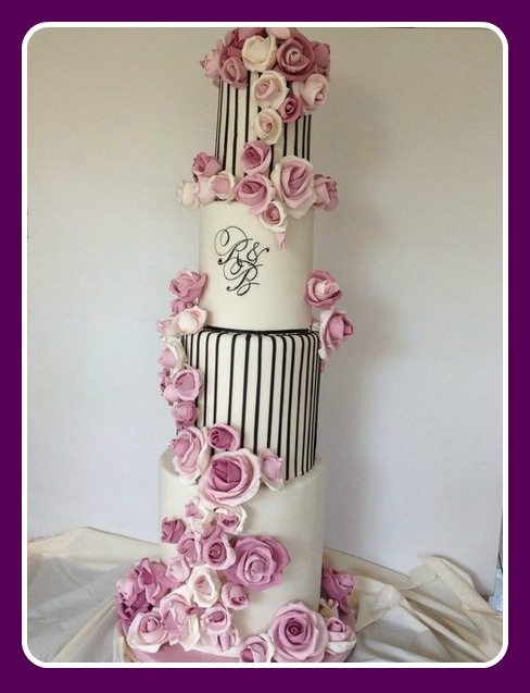Parisien Wedding Cake