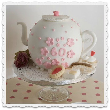 Vintage and Cake Teapot